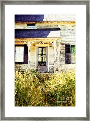 Old Home Framed Print by HD Connelly