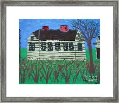 Old Homestead Framed Print