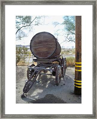 Old Horse Drawn Beer Wagon Framed Print by Jose Melo