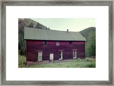 Framed Print featuring the photograph Old Hotel by Bonfire Photography