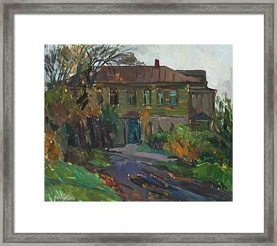 Old House Framed Print by Juliya Zhukova