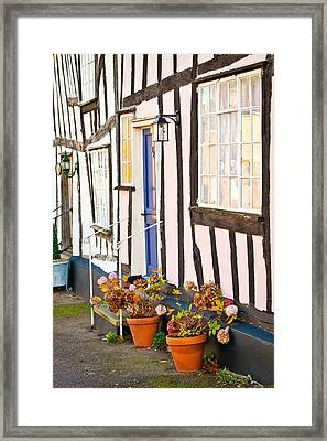 Old Houses Framed Print by Tom Gowanlock
