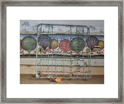 Old Kitchen Framed Print by Todd Sherlock