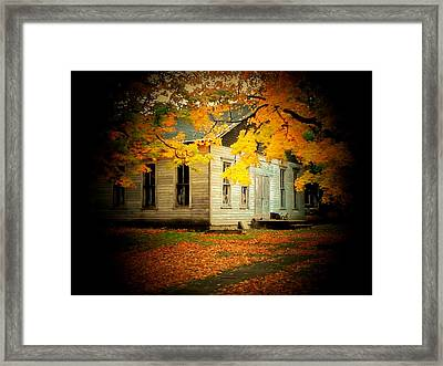 Old Lions Club Framed Print by Michael L Kimble