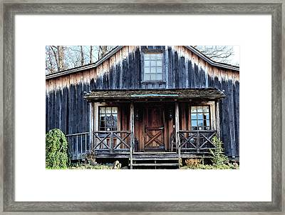 Old Log House2 Framed Print by Sandi OReilly
