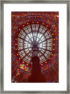 Old Louisiana State Capitol Dome Framed Print