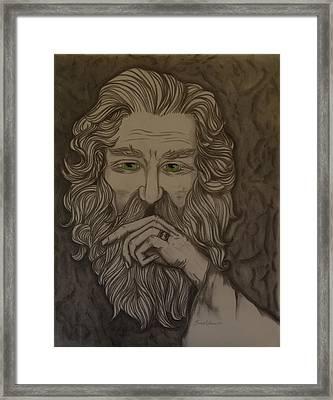 Old Man Framed Print