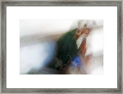 Old Man Of The East Framed Print by Kantilal Patel