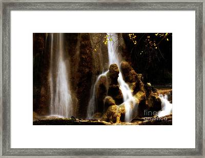 Old Man Rock Framed Print