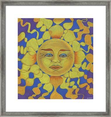 Old Man Sun Framed Print