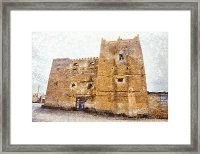 Old Mansion In Mirbat Framed Print