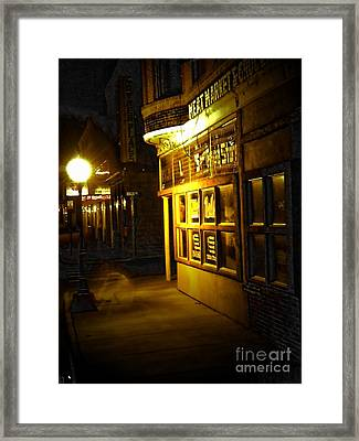 Old Meat Market Framed Print by Michelle Frizzell-Thompson