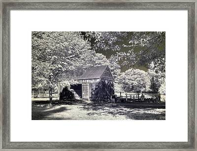 Old Mill Framed Print by Joann Vitali