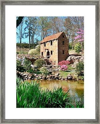 Old Mill Framed Print by Joe Finney