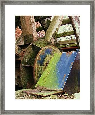 Old Mill Framed Print by Todd Sherlock