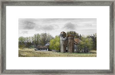 Old Minnesota Farmstead Framed Print