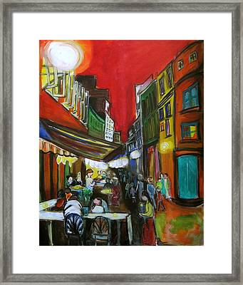Old Montreal Framed Print by Nathalie Fabri