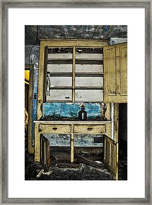 Old Mother Hubbards Cupboard Framed Print by Bill Cannon