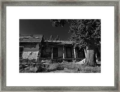 Old Mountain Ranch Framed Print