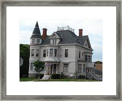 Old New England Framed Print by Kenneth Dow