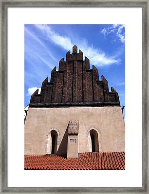 Old New Synagogue Framed Print by Linda Woods