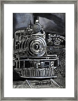 Old Number Seven Framed Print by Bob Crawford