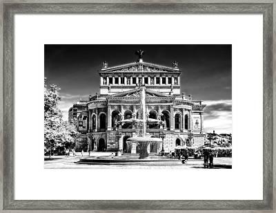 Old Opera Frankfurt Framed Print by Joachim G Pinkawa