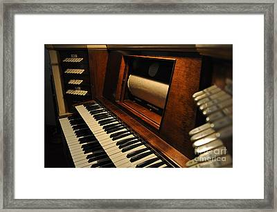 Old Organ  2 Framed Print