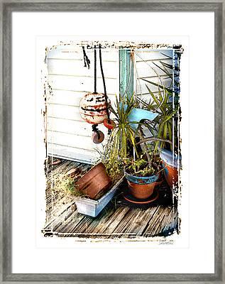 Old Planters Framed Print by Linda Olsen