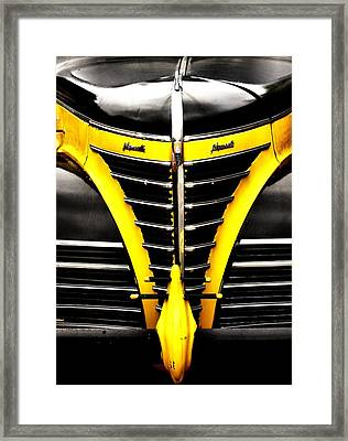 Old Plymouth Framed Print by Kenneth Mucke