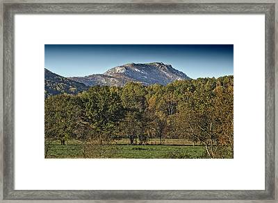 Old Rag Mountain - Virginia Framed Print