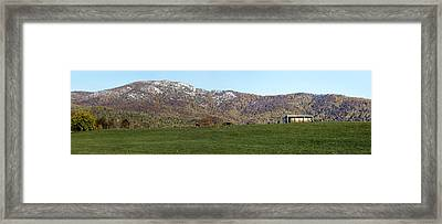Old Rag Mountain Virginia - Panorama Framed Print
