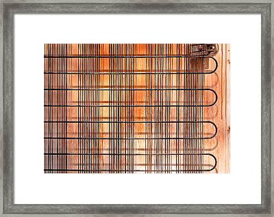Old  Refridgerator Framed Print