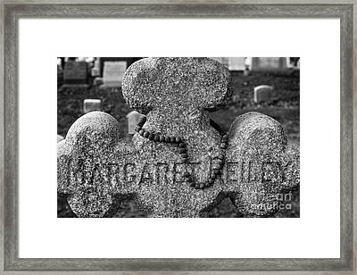 Old Rosary Framed Print by Susan Isakson