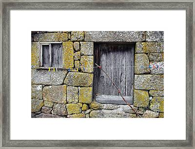 Old Rural House Framed Print by Carlos Caetano
