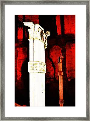 Old Sacramento-1 Framed Print by Todd Sherlock