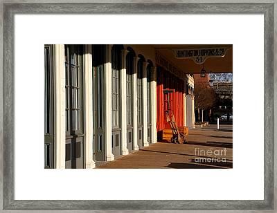 Old Sacramento California . Huntington Hopkins And Company . 7d11701 Framed Print by Wingsdomain Art and Photography