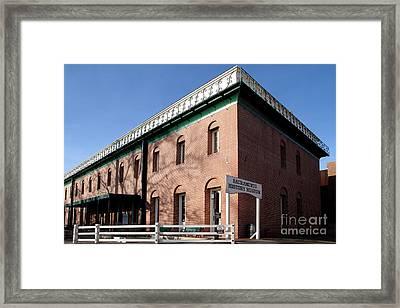 Old Sacramento California . Sacramento History Museum . 7d11700 Framed Print by Wingsdomain Art and Photography
