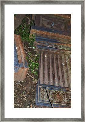 Old Sacramneto-3 Framed Print by Todd Sherlock