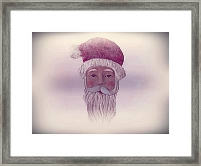 Old Saint Nicholas Framed Print by David Dehner