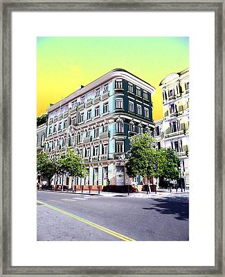 Old San Juan 1 Framed Print