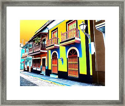 Old San Juan 10 Framed Print
