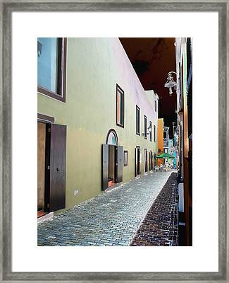 Old San Juan 13 Framed Print