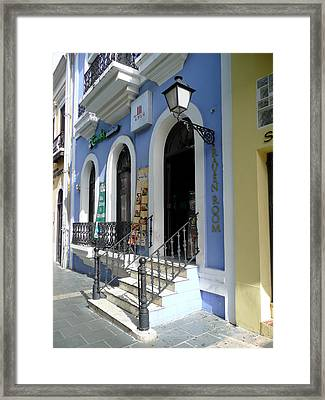 Old San Juan 2 Framed Print