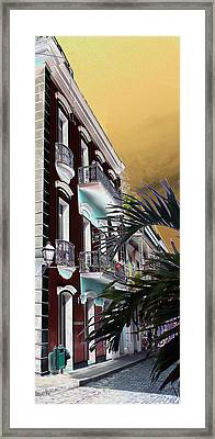 Old San Juan 5 Framed Print