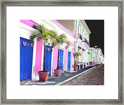 Old San Juan 6 Framed Print