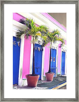 Old San Juan  7 Framed Print
