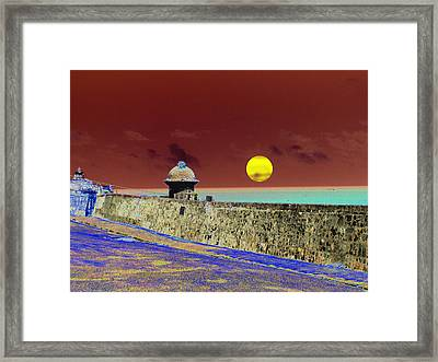 Old San Juan 8 Framed Print