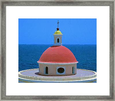 Old San Juan Framed Print by Jerry L Barrett