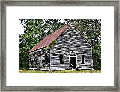 Old School Alabama Framed Print by Amanda Vouglas